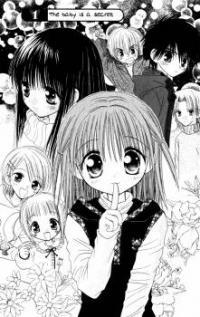 Naisho no Tsubomi manga