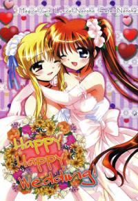 Mahou Shoujo Lyrical Nanoha - Happy Happy Wedding (Doujinshi)