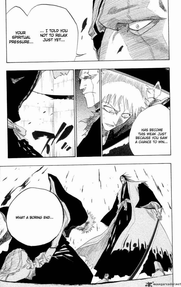 Bleach 109 Like a Tiger Treading on the Flowers