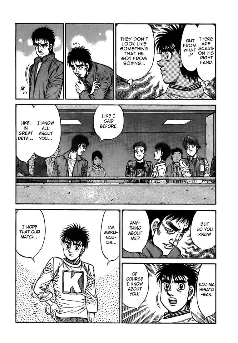 Hajime no Ippo - Chapter 918