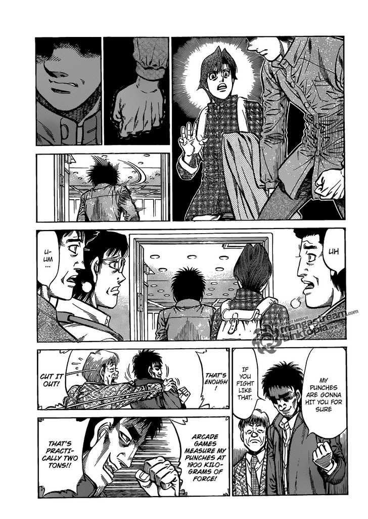 Hajime no Ippo - Chapter 928